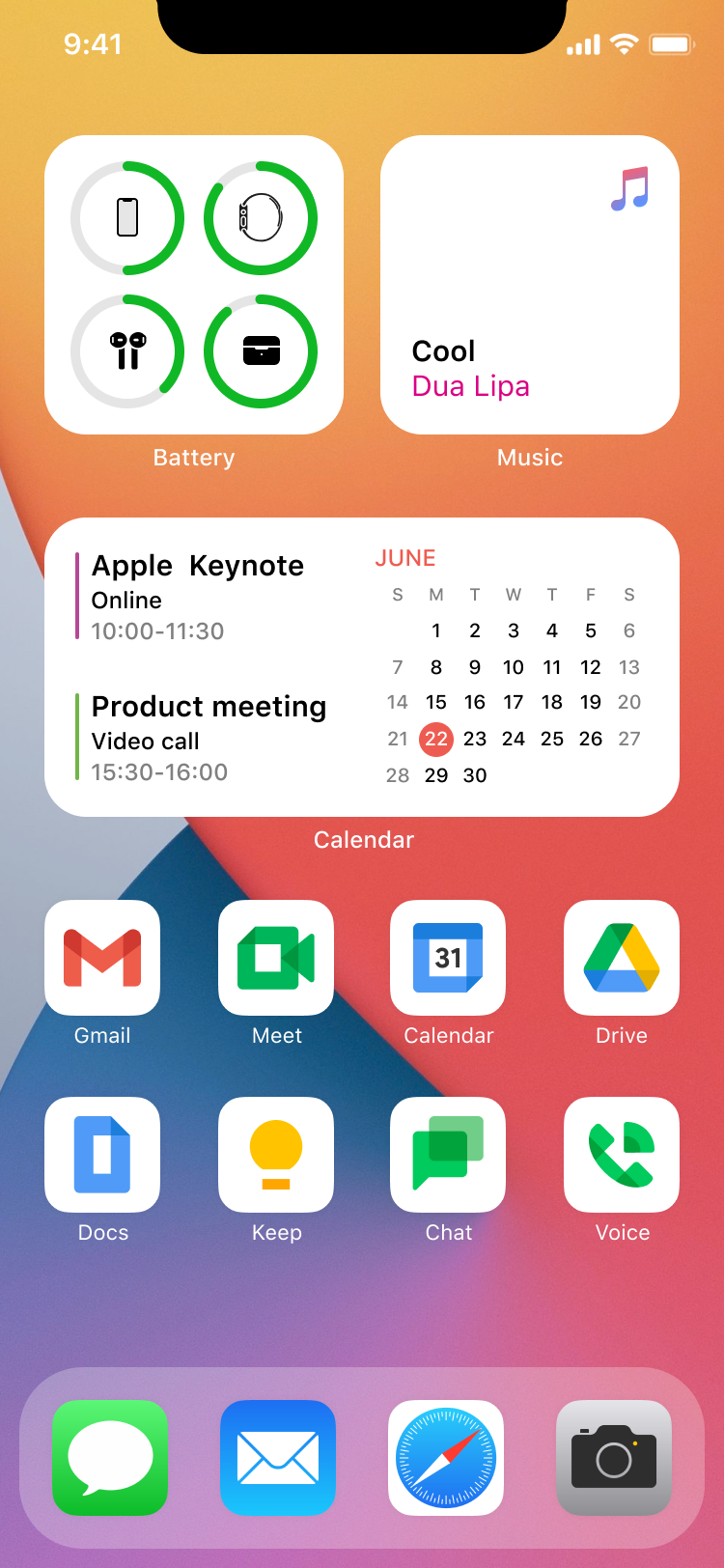 cover image for Google Workspace Icons